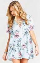 MUMU Rancho Vista Tunic Dress ~ Wildflower Breeze