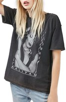 Topshop Women's Aaliyah Graphic Tee