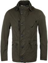 Cp Company Chrome Khaki Lightweight Hooded Goggle Jacket