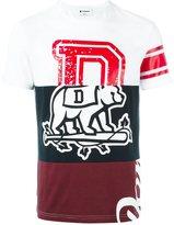Dondup printed panel T-shirt - men - Cotton - S