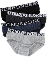 Bonds Boys Brief 4 Pack