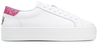 Chiara Ferragni Platform Low Top Sneakers