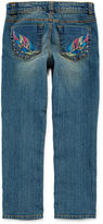Arizona Embroidered Skinny Jeans - Preschool Girls 4-6x
