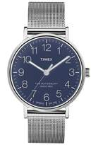 Timex R) Waterbury Mesh Strap Watch, 40mm