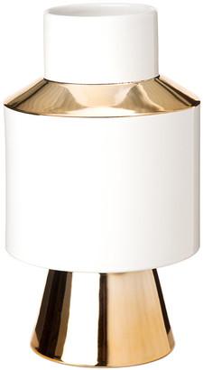 Pols Potten Object Vase - White & Gold - Small