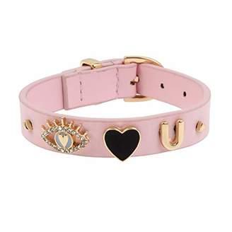 BCBG Generation Women's Eye Heart U Strap Bracelet