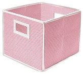 Badger Basket Fabric Cube - Gingham