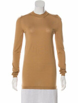 Thumbnail for your product : Loewe Virgin Wool-Blend Knit Dress silver