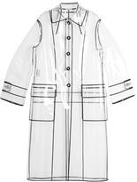 Miu Miu Single-breasted raincoat