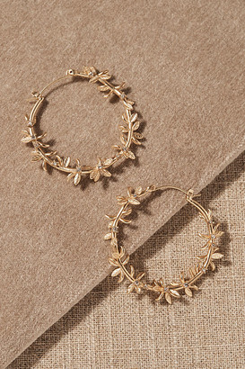 Anthropologie Wuthering Earrings By in Gold