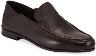 Ermenegildo Zegna Flex Deerskin Moccasin Loafers