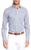 Maker & Company Men's Grid Check Sport Shirt