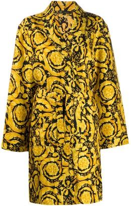Versace Baroque Print Bath Robe