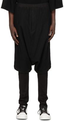 Julius Black Wool Sarouel Trousers
