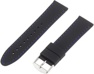 Hadley Roma Hadley-Roma 22mm 'Men's' Silicone Watch Strap