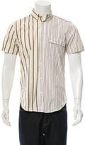 Marc by Marc Jacobs Striped Short Sleeve Button-Up