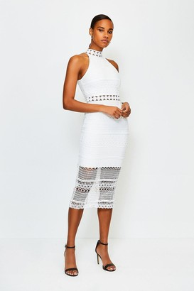 Karen Millen Crochet Bandage Dress