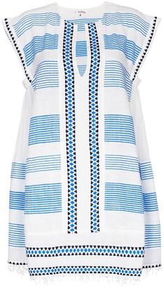 Lemlem Mizan stripe mini dress