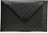 Alaia Studded Leather Envelope Clutch