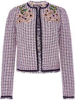 Giambattista Valli Embellished Tweed Jacket