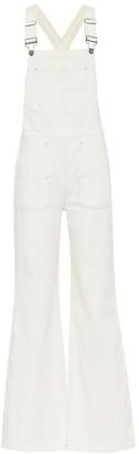 Frame Carpenter Color denim overalls