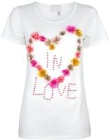 Lanvin 'Love' embellished t-shirt