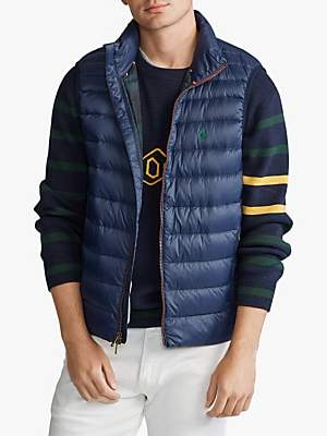Ralph Lauren Polo Holden Packable Quilted Down Gilet