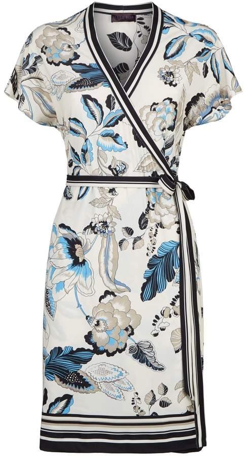 Hale Bob Soleil Wrap Dress