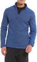 Daniel Cremieux Textured Fleece Quarter-Zip Pullover