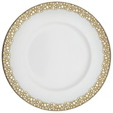 Caskata Ellington Shimmer Gold Simple Dinner Plate