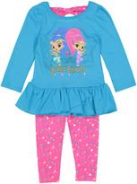Children's Apparel Network Aqua Shimmer & Shine 'Double Trouble' Tee & Leggings - Toddler