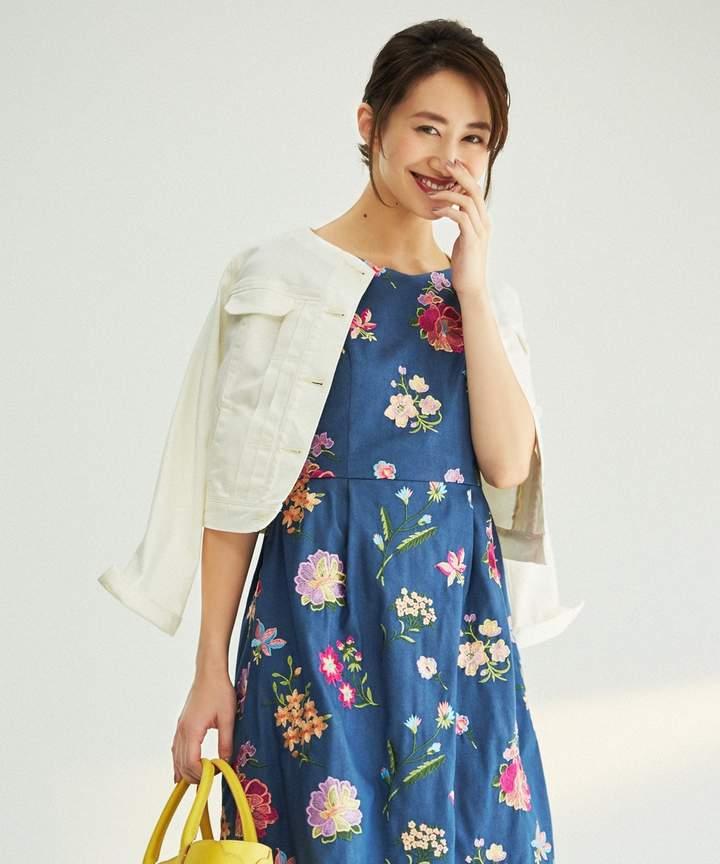Tocca (トッカ) - TOCCA 【洗える!】SPICE デニム ジャケット(C)FDB