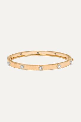 Buccellati Macri 18-karat Yellow And White Gold Diamond Bracelet