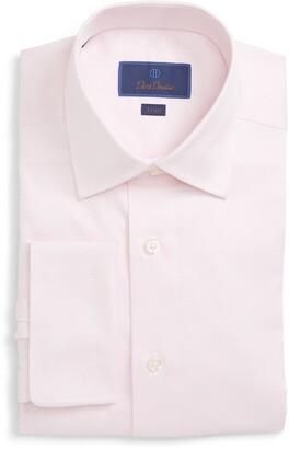 David Donahue French Cuff Trim Fit Shirt