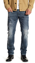 "Buffalo David Bitton Ash Striped Slim Straight Leg Jeans - 32"" Inseam"