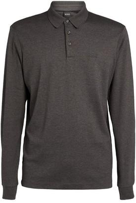 HUGO BOSS Tonal Logo Polo Shirt