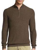 Claiborne Long-Sleeve Thermolite Quarter-Zip Sweater