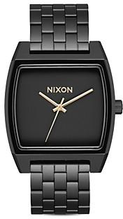 Nixon Time Tracker Link Bracelet Watch, 37mm