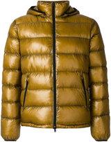 Herno hooded down jacket - men - Polyamide/Polyester/Spandex/Elastane/Goose Down - 48