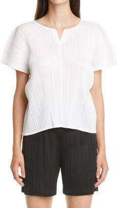 Pleats Please Issey Miyake June Pleated Top