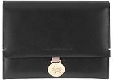 Radley Exbury Leather Medium Flapover Purse, Black