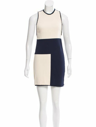 Calvin Klein Collection Sleeveless Knit Dress w/ Tags navy