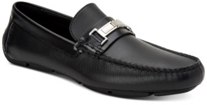 Calvin Klein Men's Karns Driving Loafers Men's Shoes