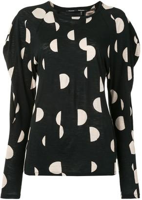 Proenza Schouler Polka-Dot Print Shirt