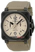 Bell & Ross Bell and Ross Aviation Desert Type Automatic Men's Watch BR03-94-DESERT TYPE