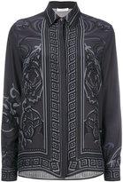 Versace arabesque print shirt - women - Silk - 40
