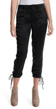 Jessica Simpson Drawstring-Hem Utility Pants