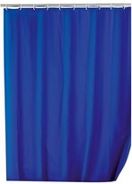 Wenko Shower Curtain In Uni Night Blue