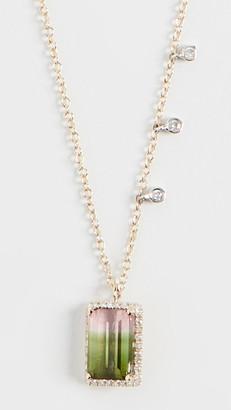 Meira T Tourmaline Ombre Necklace