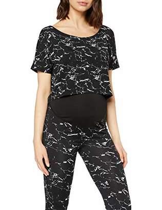 Noppies Women's Tee ss Florien Maternity Sports T-Shirt,8 ('s Size: XS)